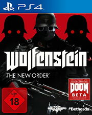 Wolfenstein: The New Order Ps4 (Sony PlayStation 4) NEUWARE