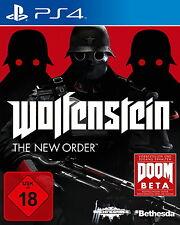 Wolfenstein: The New Order | Playstation 4 | PS4 | gebraucht in OVP