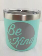 Be Kind YETI Rambler 14oz Stainless Vacuum Insulated Mug Lid Cold Hot Coffee