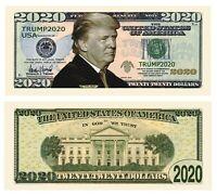 50 Pack - Donald Trump 2020 Re-Election Presidential Novelty Dollar Money Bills