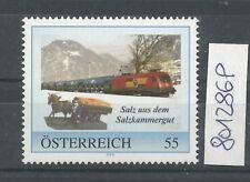 """Österreich PM personalisierte Marke Eisenbahn """"Salz aus dem Salzkammergut """" **"""