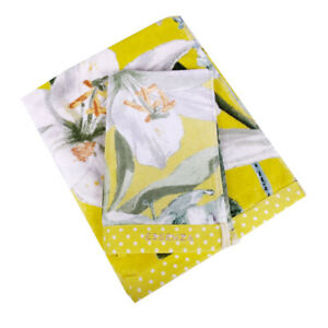 Set 1 + 1 towel and guest towel ESSENZA Rosalee yellow