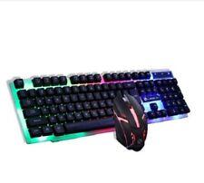Limeme GTX 300 Aufhängung Regenbogen Licht Gaming Maus Und KB Kombo für Laptop