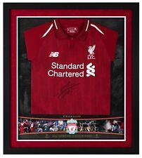 Jurgen Klopp Signed & Framed Shirt Liverpool FC Genuine Autograph AFTAL COA (FT0