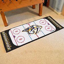 """Nashville Predators 30"""" X 72"""" Hockey Rink Runner Area Rug Floor Mat"""