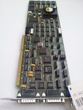 HTEC IPC 486-XT. Vintage ISA board w/Intel 80486 CPU. 2x 15-pin X.21 connectors