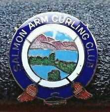 Curling Club Pin - Salmon Arm Curling Club