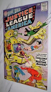 Brave and the Bold #29 VF/NM 9.0 Cr/OW 1960 DC 2nd Justice League of America