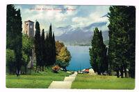 Old Vintage Postcard Italy 1910 ca. COMO BELLAGIO LAGO DI COMO