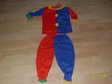 Clown Kostüm Gr.S~4-6 Jahre~2teiler