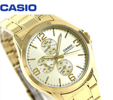 Casio Men's Standard MTP-V301G-9A Fashion Stainless Steel Dress Analog Watch New