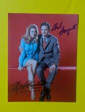 """""""Bewitched""""/Elizabeth Montgomery & Dick Sargent signed 8x11 color foto w/GA-COA!"""