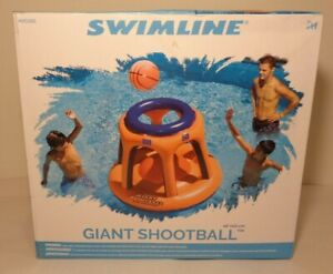 GIANT SHOOTBALL by Swimline Vinyl New Pool Water Basketball Game