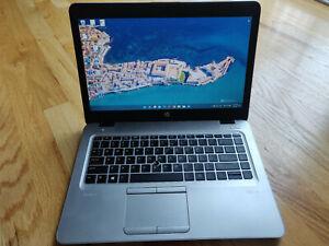 Windows 11 HP EliteBook 840 G4 14'' i5-7200U 8GB 128 M.2 SSD Webcam Backlit FHD