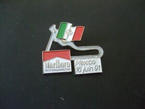 PINS CIRCUIT COUSE AUTO F1 FORMULE 1 MARLBORO MEXICO 16 JUIN 91 MEXIQUE