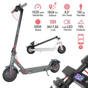Monopattino elettrico pieghevole e-scooter per adulti pieghevole 36 V
