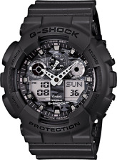 Casio G-Shock Mens Wrist Watch GA100CF-8A GA-100CF-8A Camouflage Grey Ana-Digi