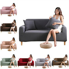 1 2 3 Seater Sofa Cover  Slipcover Elastic Stretch Lounge Living Room Supplies