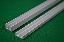 """1.2cm PVC GLASS DOOR RUNNERS 47"""" fit 4FT VIVARIUM 6MM TOP &BOTTOM"""