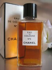 Chanel No5 Eau de Cologne Huge 118ml Vintage 1970s New Sealed Box Iranian Jasmin