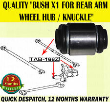 FOR LEXUS RX300 RX350 RX400 RX400H 1X BUSH FOR REAR WHEEL HUB KNUCKLE ARM