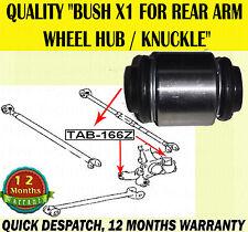 Per LEXUS RX300 RX350 RX400 RX400H 1x Bush PER RUOTA POSTERIORE HUB knuckle arm