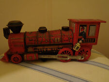 Modern Toy Western Battery Tin Litho Train # 557116 Vintage Articulated Vtg