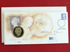 1995 WILLIAM WYON PROOFLIKE ROYAL MINT MEDAL COVER