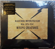 BLACK REBEL MOTORCYCLE CLUB CD Wrong Creatures jewel case 2018 Album + Promo Sht