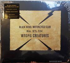BLACK REBEL MOTORCYCLE CLUB CD Wrong Creatures jewel case 2018 Album + Promo Sht