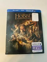 The Hobbit: The Desolation of Smaug w/ Slipcover (Bluray/DVD,2013) [BUY 2 GET 1]