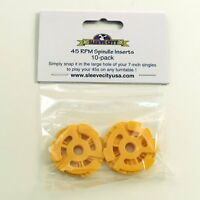 """7"""" Record Adapters 10 Pack"""