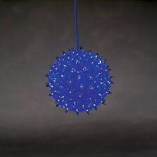 Konstsmide 3503-400 Lichterkugel blauFensterdeko 100 Birnchen Weinachtsgeschenk