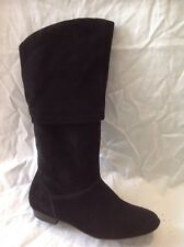 Aldo Black Mid Calf Suede Boots Size 37