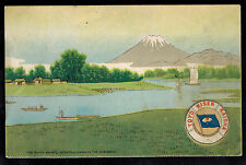 1912 USA Paqueboat Postcard Cover to Vancouver Canada SS Shinyo Maru Mt Fuji