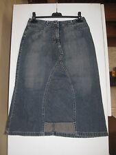 School Rag - Jupe en jean midi forme trapèze - bleu délavé - 100% coton - 36