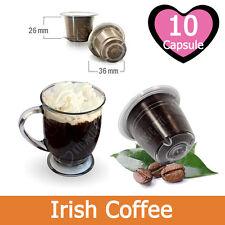 10 Capsule Caffè Kickkick Irish Coffee Cialde Compatibili NESPRESSO