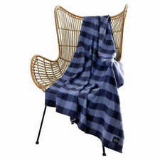 Pendleton Home Collection Rob Roy Luxe Blue Multi Color Throw Blanket 50X70 NEW