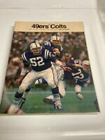 SAN FRANCISCO 49ERS vs BALTIMORE COLTS OCT 13TH 1968