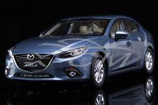 Diecast Car Model Mazda 3 AXELA Sedan 1:18 (Blue) + GIFT!!!