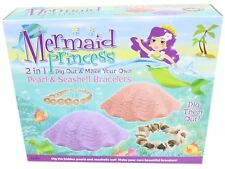 Mermaid Princess 2 in 1 tirar fuori il Myo perla e conchiglia Braccialetto Playset