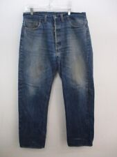 Vintage Levi's 501 Single Stitch Redline Selvedge Jeans Tag Size 40 X 34