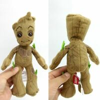 "Guardians of The Galaxy Baby Groot 9"" Plush Toys Figure Doll Avengers Film Gift"