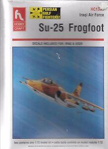 Hobbycraft Su-25, Iraqi Air Force Attack Aircraft 1/72 1332