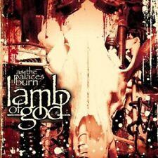 LAMB OF GOD - AS THE PALACES BURN  CD 10 TRACKS HARD 'N' HEAVY/DEATH METAL NEU
