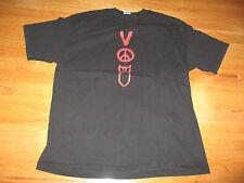 2005 U2 Vertigo Drawing Concert Tour Xl T-Shirt Bono The Edge Clayton Mullen Sil