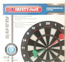 Safety Darts Set with Rubber Tipped Darts - New