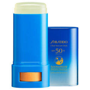 SHISEIDO Clear Suncare Stick SynchroShield UV Sunscreen SPF50+ PA++++ 20g JAPAN