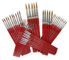 Single Handmade Sable Artist Paint Brushes Sizes 000 To 10 + Multibuy Discount