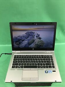 "HP EliteBook 8460p Intel i5 2450M 56.5GB HDD 8GB RAM Windows 10 Pro 14"""
